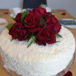hindistancevizli ahududulu yaş pasta