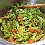 Grüne Bohnen mit Olivenöl