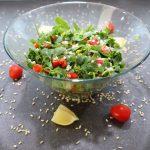 Yarmalı Semizotu Salatası