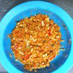 Zuchini gefüllt mit Bulgur