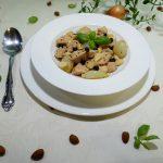 Cremiger Hähncheneintopf nach osmanischer Art