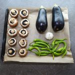 Ofengebratener Gemüse-Salat mit Jogurt Rezept