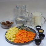 Kartoffel-Möhren-Maronen-Suppe Rezept