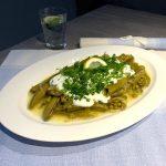 Frische Saubohnen mit Olivenöl Rezept