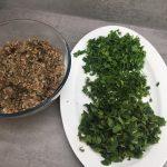 Gefüllte Paprika mit Olivenöl